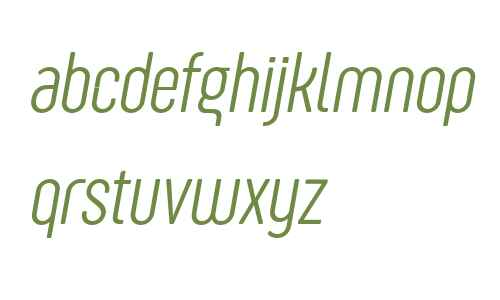 Sugo Pro Display Trial ExtraLight Italic