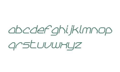 Sylar W00 Bold Italic