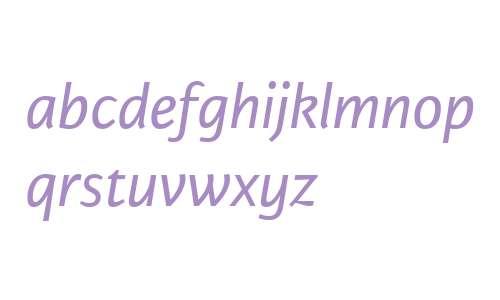 Karmina Sans W02 Italic