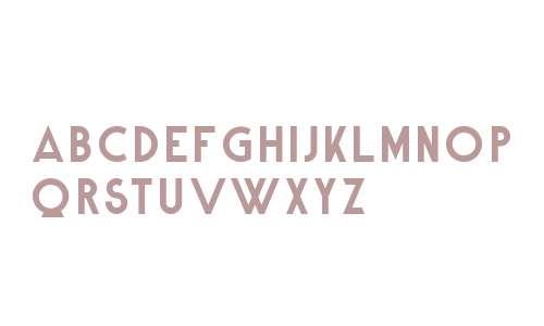 Alpine Typeface Clean Bold