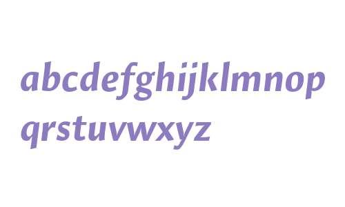 Hildegard LT Std Bold Italic