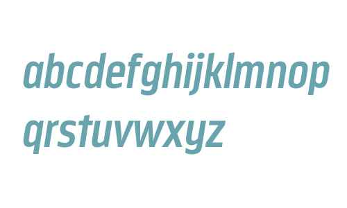 Nordikka W00 Bold Italic