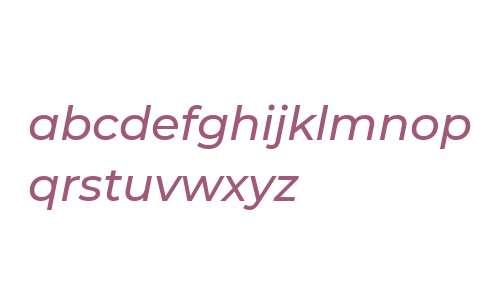 Montserrat Medium Italic