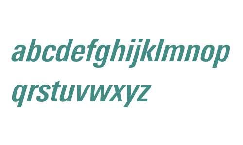 LinotypeUnivers-CondBoldItalic