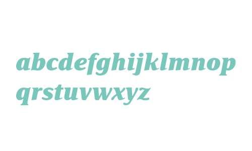 Delima MT W04 Extra Bold Italic
