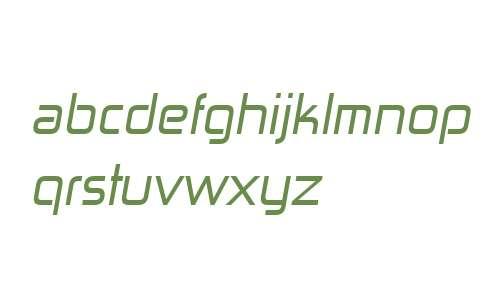 Zekton W00 Italic