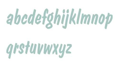 DomCasualD W01 Italic