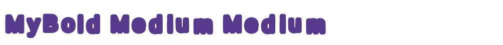MyBold Medium