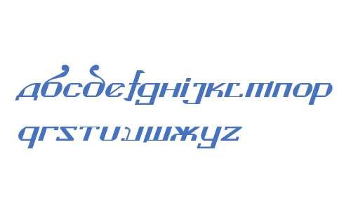 Kremlin Soviet Italic