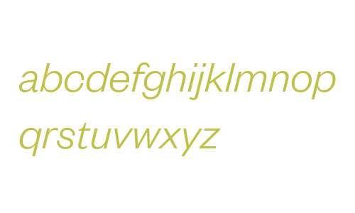 Founders Grotesk Light Italic Regular
