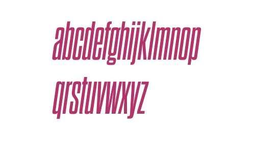 Dharma Gothic C W03 Bold Italic