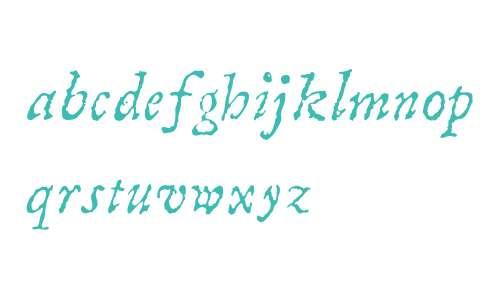 Compendio W04 Italic
