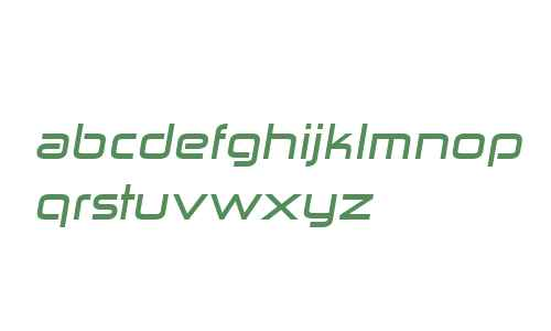 Zekton Ex Bold Italic