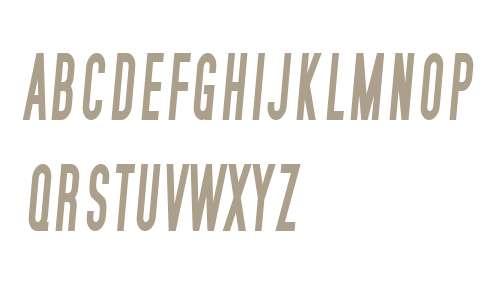 SF Movie Poster Condensed Bold Italic V1