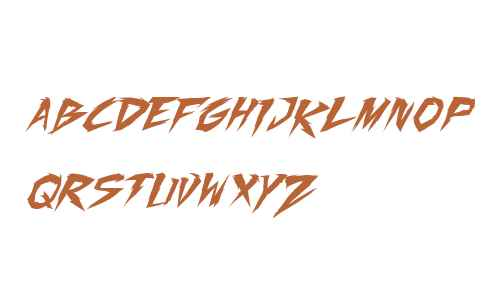 Fighting Spirit turbo Italic