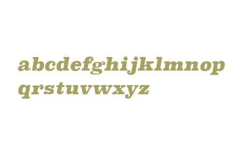 Superclarendon Bl Italic V2