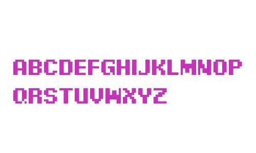 Pixel Digivolve Cyrillic