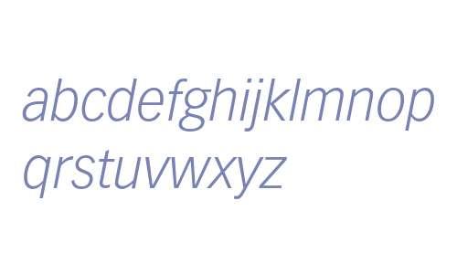 Vectora LH 46 Light Italic