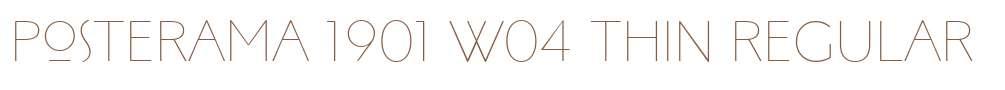 Posterama 1913 Fonts Free Download - OnlineWebFonts COM