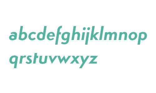 Simplo W00 Bold Italic