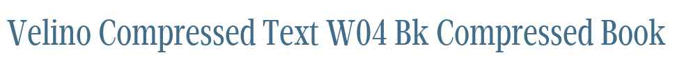 Velino Compressed Text W04 Bk