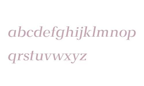ALSNF64 Regular-italic