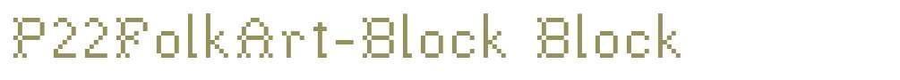 P22FolkArt-Block