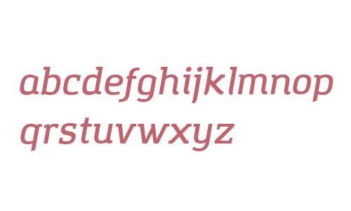Amazing Grotesk DemiBold Italic