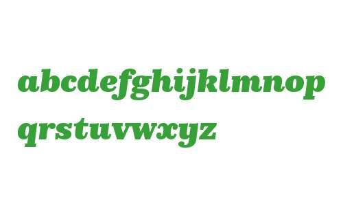 KazimirText Black Italic