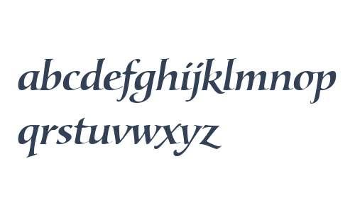 Lorenzo W01 Medium Italic