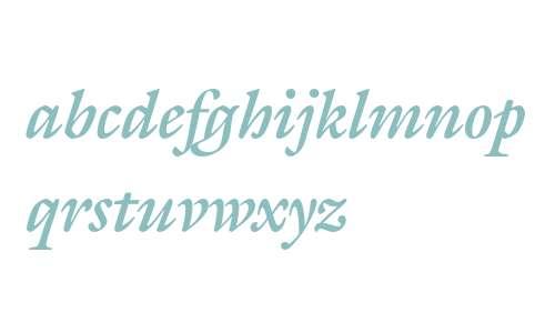 Gallery Bold Italic