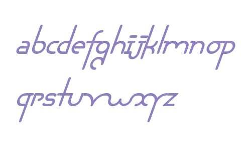 Chaman W00 Bold Italic