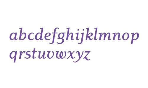 Dyadis ITC Std Medium Italic