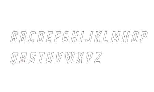 DISPLAYEDObliqueoutline
