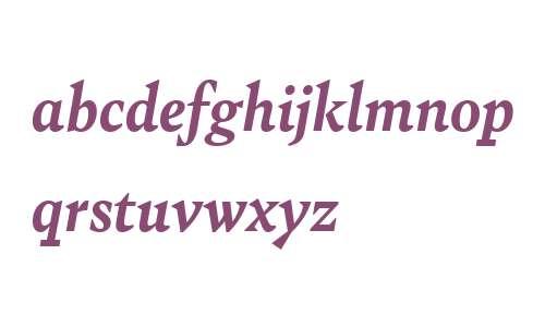 Bely W03 Bold Italic