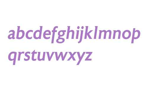 Astoria W00 Medium Italic