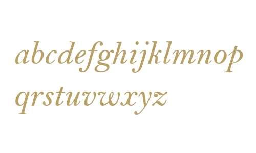 Bell MT W04 SemiBold Italic