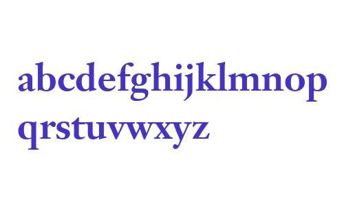 Janson Text W04 75 Bold