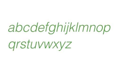HelveticaLTStd-LightObl
