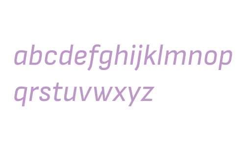 Attractive Italic