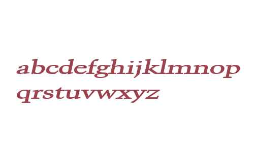 Congo Extended Bold Italic