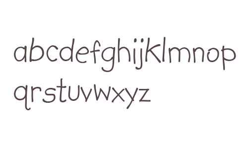 Kidprint Bold Font Download For Free - Fontsup.com