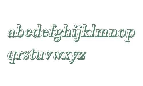 BodoniSh-Italic