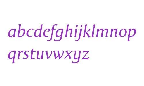 Grantofte W00 Italic