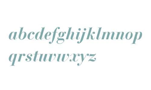 Boston Bold Italic