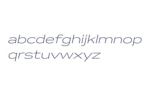 Makro Light Italic