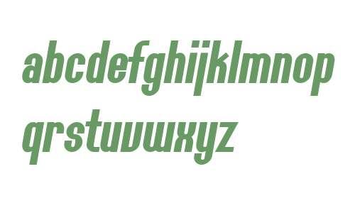 SF Willamette Bold Italic V2 V1