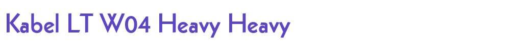 Kabel LT W04 Heavy