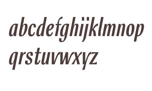 Rossika W10 Regular Italic
