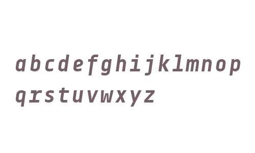 Centima Mono W01 Bold Italic